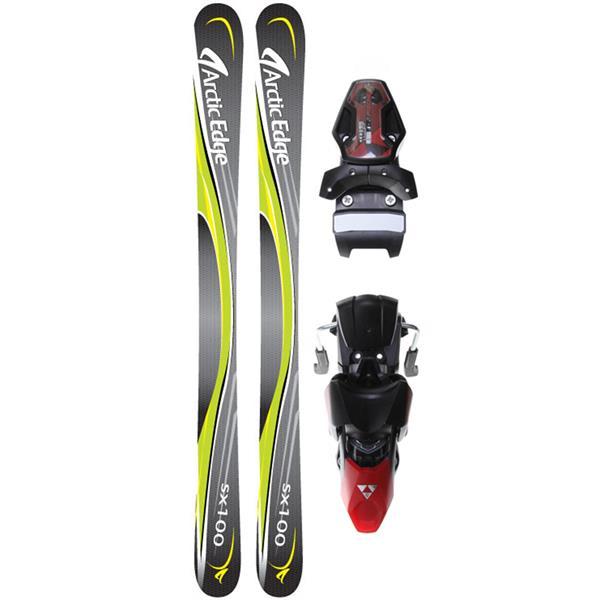 Arctic Edge Sx100 Sb Twin Camrock Skis W / Tyrolia Sl100 Ski Bindings U.S.A. & Canada