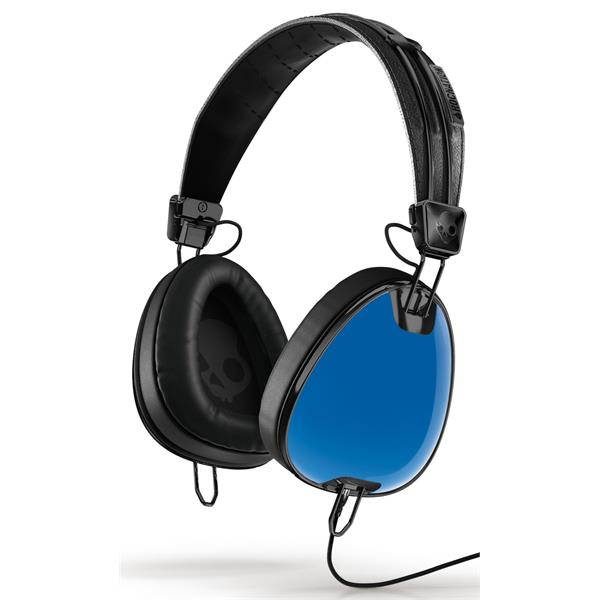 Skullcandy Aviator W / Mic 3 Headphones Royal Blue / Black U.S.A. & Canada