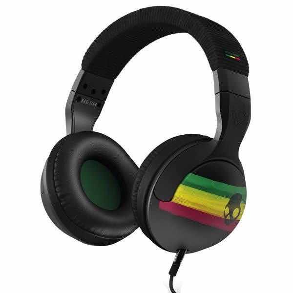 Skullcandy Hesh 2 0 Headphones Rasta U.S.A. & Canada