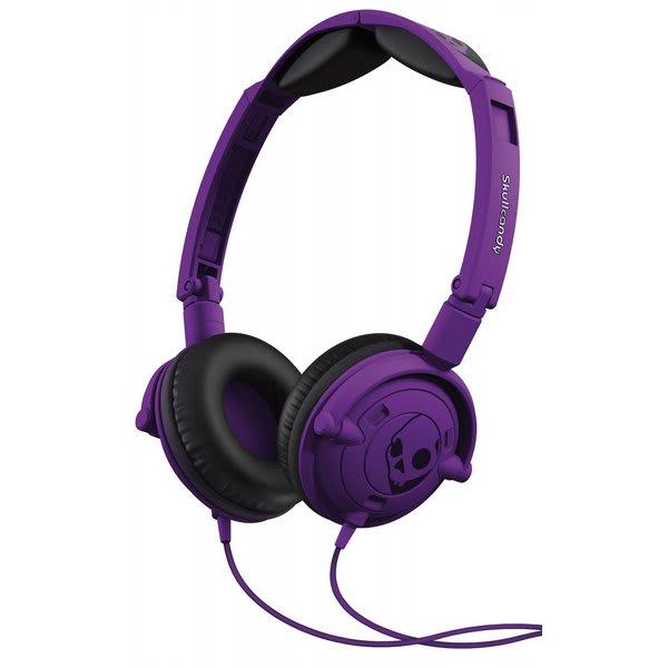 Skullcandy Lowrider W / Mic 1 Headphones Athletic Purple U.S.A. & Canada