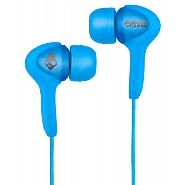 Skullcandy Smokin Buds Earbuds W / Mic Shoe Blue Discontinued Model U.S.A. & Canada