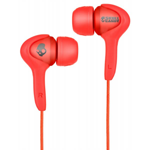 Skullcandy Smokin Buds Earbuds W / Mic Shoe Red Discontinued Model U.S.A. & Canada