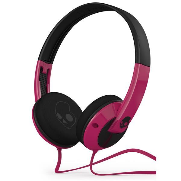 Skullcandy Uprock Headphones Pink U.S.A. & Canada