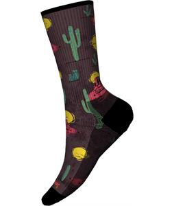 Smartwool Hike Light Desert Solitaire Print Crew Socks