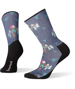 Smartwool Hike Light Under-The-Stars Print Crew Socks