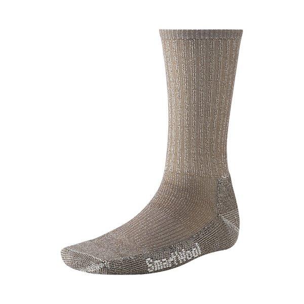 Smartwool Hiking Heavy Crew Socks Taupe U.S.A. & Canada