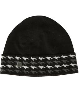 Smartwool Houndstooth Cuffed Beanie-Black
