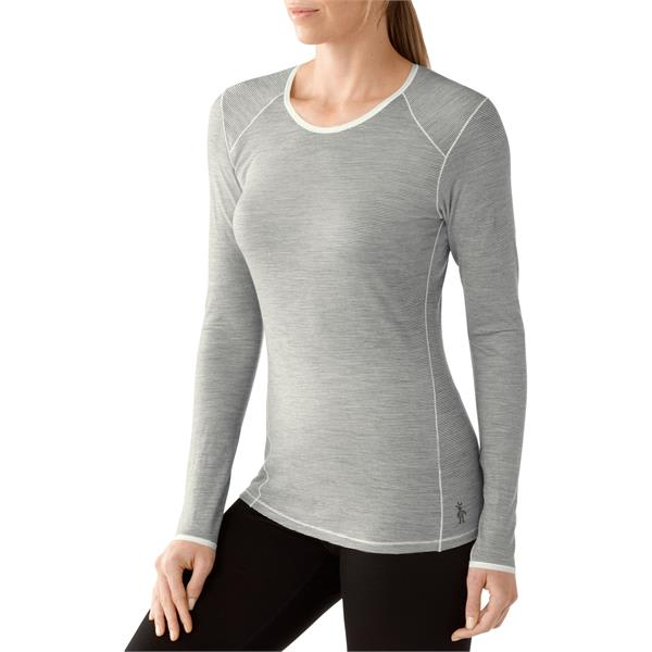 42f3673dc Smartwool NTS Micro 150 Pattern Crew Baselayer Top - Womens