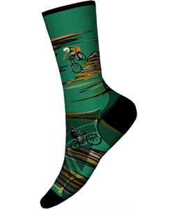 Smartwool PhD Cycle Ultra Light Dialed Print Crew Socks