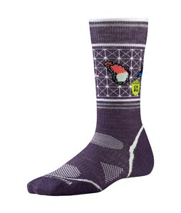 Smartwool PhD Outdoor Light Crew:Charley Harper Natl Pk Pstr Btrfly Socks