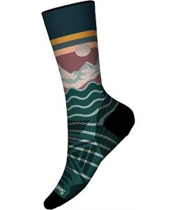 Smartwool PhD Outdoor Light Front Range Print Crew Socks