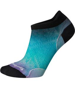 Smartwool PhD Run Ultra Light Ombre Print Micro Socks
