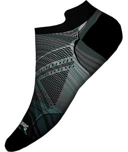 Smartwool PhD Run Ultra Light Wave Print Micro Socks