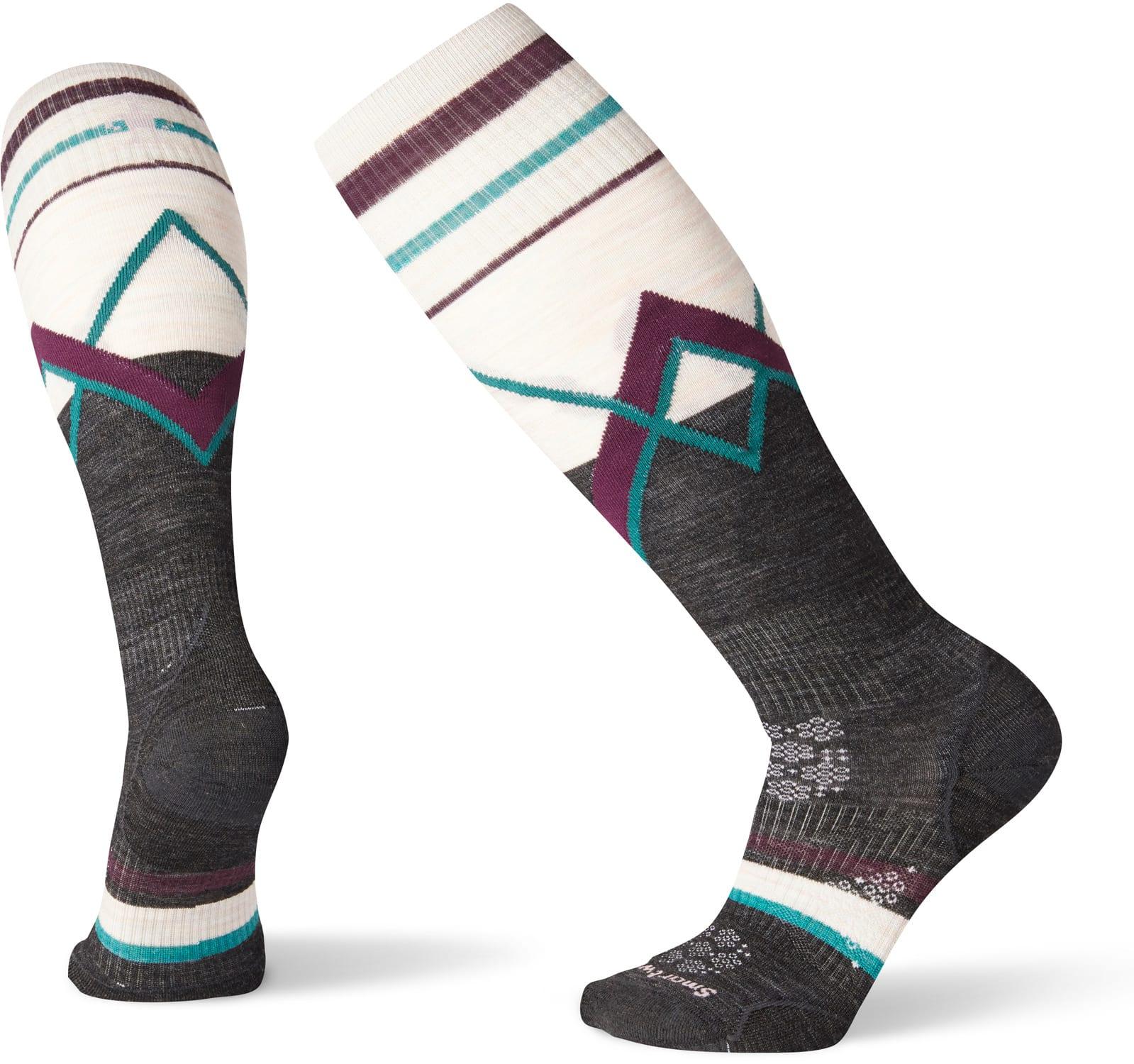 Smartwool Phd Ski Ultra Light Pattern Socks Womens 2020