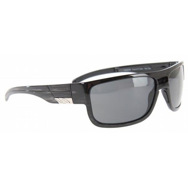 Smith Collective Sunglasses Black Stripe / Polarized Gray Lens U.S.A. & Canada