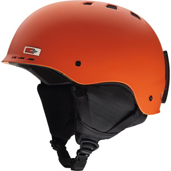 Smith Holt Snowboard Helmet Matte Orange U.S.A. & Canada