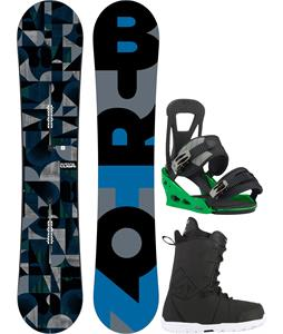 Burton Clash Snowboard w/ Transfer Boots & Freestyle Re:Flex Bindings