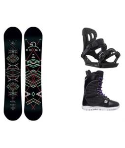 Rome Royal Snowboard w/ Ride VXN Bindings & DC Karma Boots