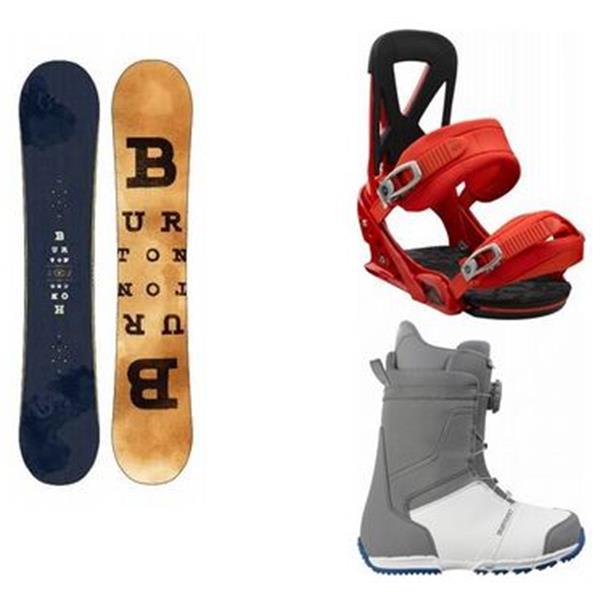 Burton Honcho Snowboard W / Tyro Boots & Mission Bindings U.S.A. & Canada