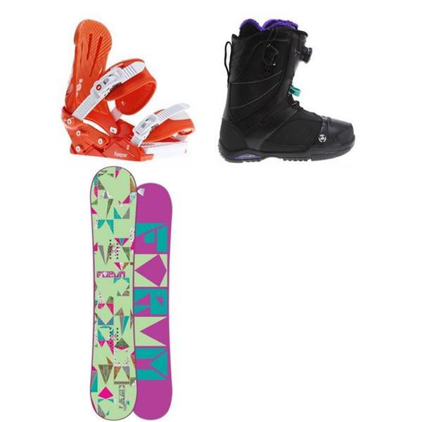 Forum Craft Snowboard W / 2 Sapera Boots & eeper Bindings U.S.A. & Canada
