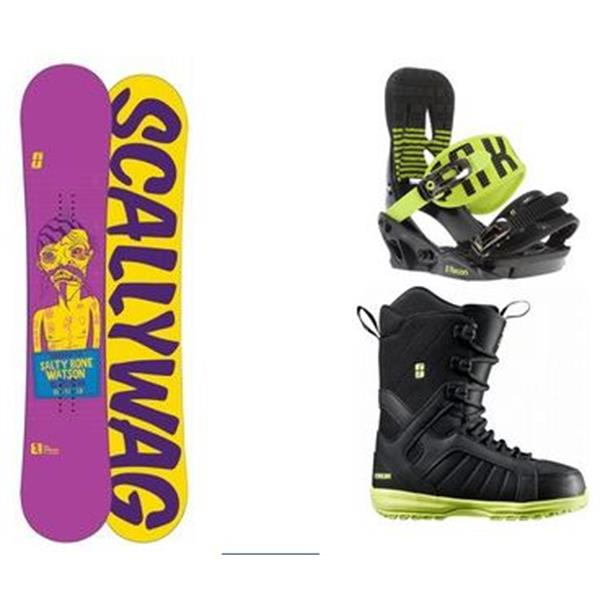 Forum Scallywag Snowboard W / Flastplant Boots & Recon Bindings U.S.A. & Canada