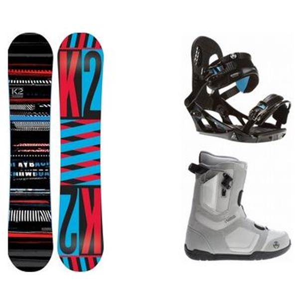 2 Playback Snowboard W / Data Boots & Indy Bindings U.S.A. & Canada