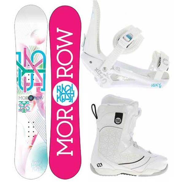 Morrow Sky Snowboard W / ava Boa Boots & Sky Bindings U.S.A. & Canada