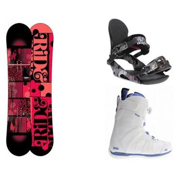 Ride Compact Snowboard W / Sage Boots & Vxn Bindings U.S.A. & Canada