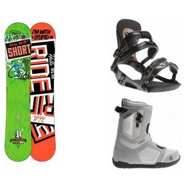 Ride Crush Snowboard W / 2 Data Boots & Ride Revolt Bindings U.S.A. & Canada