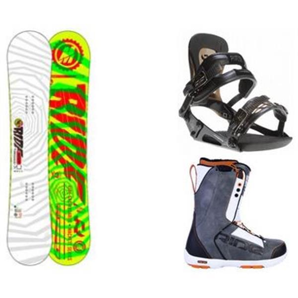 Ride Machete Snowboard W / Triad Spdl Boots & Ride Revolt Bindings U.S.A. & Canada