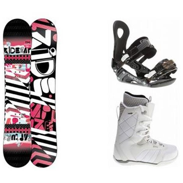 Ride Rapture Snowboard W / Donna Boots & Lxh Bindings U.S.A. & Canada