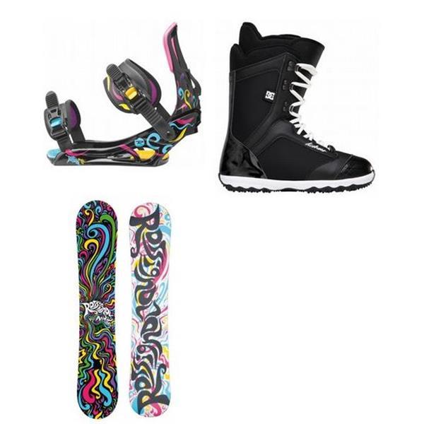 Rossignol Myth Amptek Snowboard W / Dc arma Boot & Rossignol Myth Bindings U.S.A. & Canada
