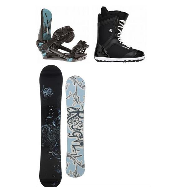 Rossignol Reserve Snowboard W / Dc arma Boots & Morrow Sky Bindings U.S.A. & Canada