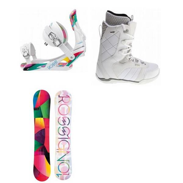 Rossignol Tesla Snowboard W / Ride Donna Boots & Rossignol Tesla Bindings U.S.A. & Canada