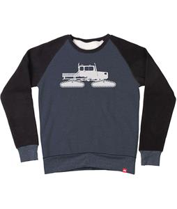 Spacecraft Snowcat Raglan Crew Sweatshirt