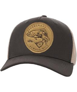 Spacecraft Wild Curved Brim Trucker Cap