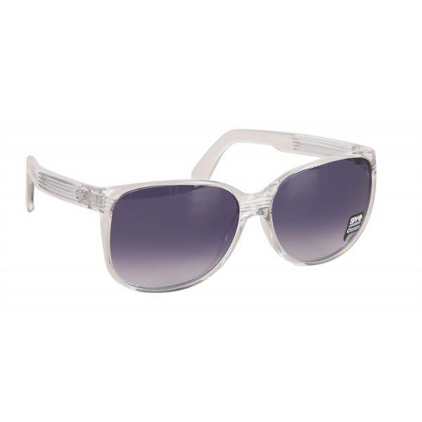 Spy Clarice Sunglasses Crystal Clear / Navy Fade Lens U.S.A. & Canada
