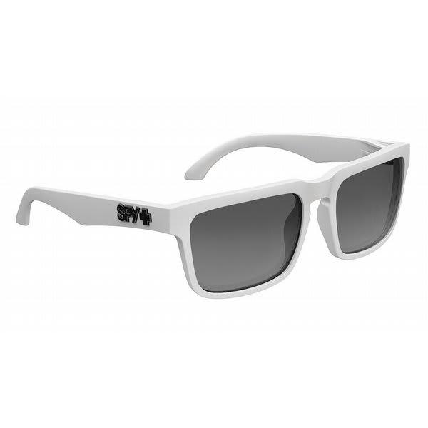Spy Helm Sunglasses Matte White / Grey Lens U.S.A. & Canada