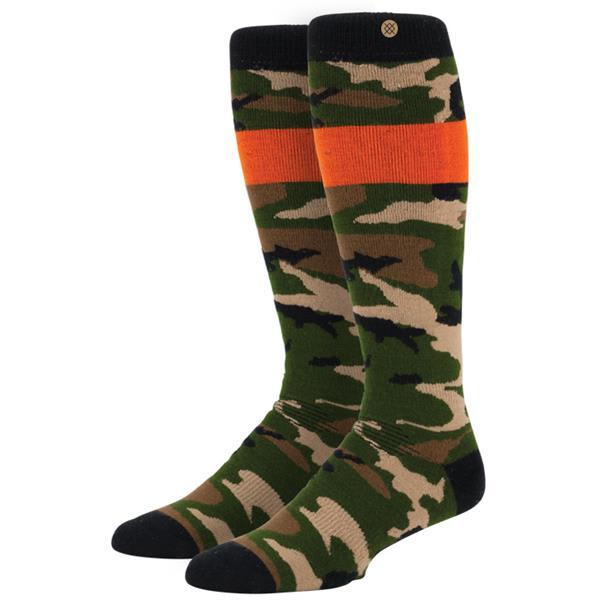Stance Leblanc 13 Snowboard Socks Camo U.S.A. & Canada