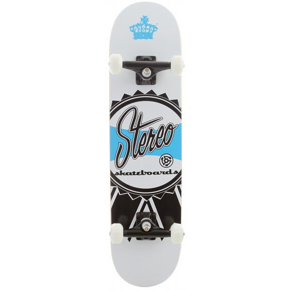 Stereo Ribbon Skateboard Complete White U.S.A. & Canada