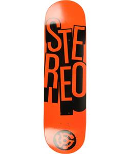 Stereo Stacked Skateboard Deck