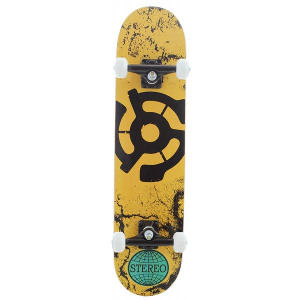 Stereo Walls 45 Skateboard Complete Yellow U.S.A. & Canada