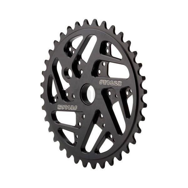 Stolen 7075 Mood Bike Chainrings Black 25T U.S.A. & Canada