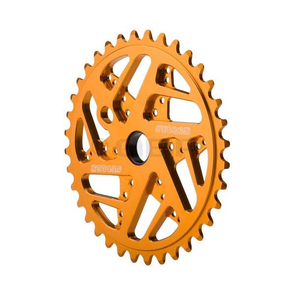 Stolen 7075 Mood Ring Bike Chainwheel Gold 25T U.S.A. & Canada