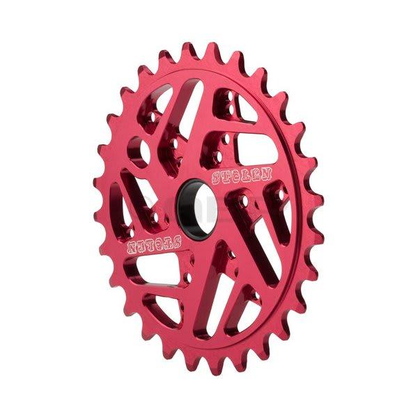 Stolen 7075 Mood Ring Bike Chainwheel Red 25T U.S.A. & Canada