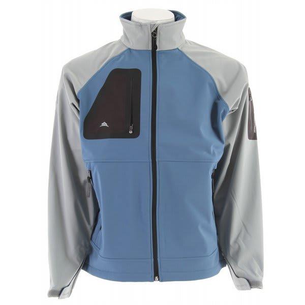 Stormtech Aeros H2Xtreme Shell Jacket Teal / Greystone U.S.A. & Canada