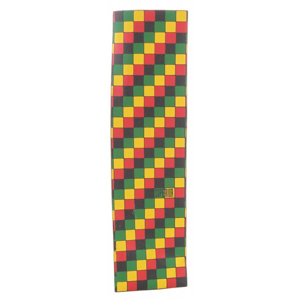 Superior Rasta Check Grip Tape Rasta U.S.A. & Canada