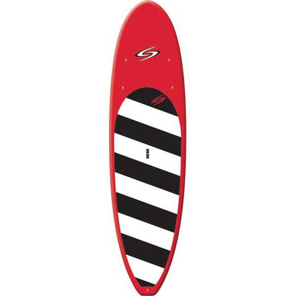 Surftech Balboa Sup Paddleboard Red / Black / White 12' W / Venture Paddle U.S.A. & Canada