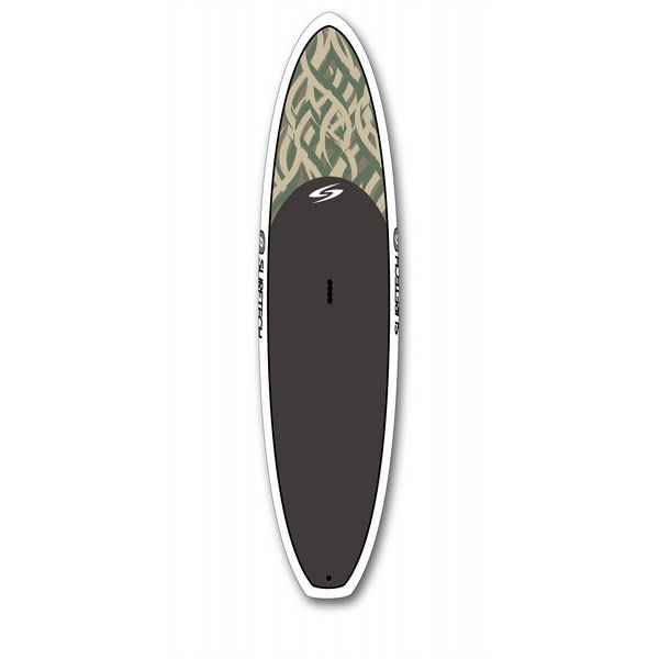 Surftech Softop Sup Paddleboard Brown Swirl 11Ft 6In U.S.A. & Canada