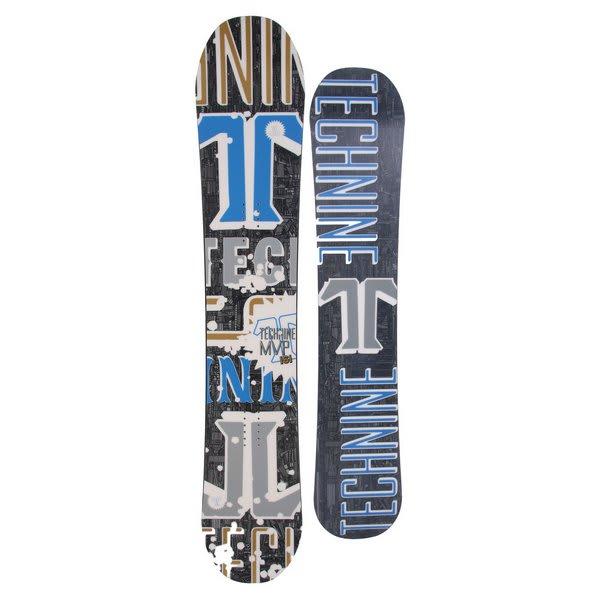 Technine Mvp Series Snowboard 161 Black U.S.A. & Canada